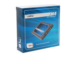 "Crucial M4 CT064M4SSD2CCA 2.5"" MLC Internal Solid State Drive (SSD) with Transfer Kit"