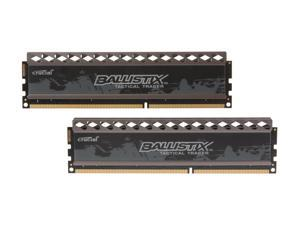 Ballistix Tactical Tracer 8GB (2 x 4GB) 240-Pin DDR3 SDRAM DDR3 1600 (PC3 12800) Desktop Memory (with Orange/Blue Light) Model BLT2KIT4G3D1608DT2TXOB