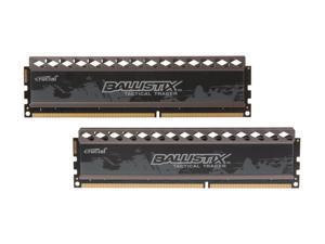 Ballistix Tactical Tracer 8GB (2 x 4GB) 240-Pin DDR3 SDRAM DDR3 1600 (PC3 12800) Desktop Memory (with Orange/Blue Light) Model BLT2KIT4G3D1608DT2TXOB