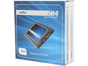 "Crucial M4 CT512M4SSD2BAA 2.5"" MLC Internal Solid State Drive (SSD)"