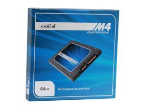 "Crucial M4 CT064M4SSD1 2.5"" MLC 7mm Internal Solid State Drive (SSD)"