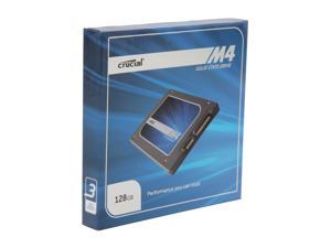 "Crucial M4 2.5"" 128GB SATA III MLC 7mm Internal Solid State Drive (SSD) CT128M4SSD1"