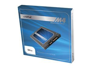 "Crucial M4 CT064M4SSD1CCA 2.5"" 64GB SATA III MLC 7mm Internal Solid State Drive (SSD) with Data Transfer Kit"