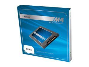 "Crucial M4 CT128M4SSD1CCA 2.5"" MLC 7mm Internal Solid State Drive (SSD) with Data Transfer Kit"
