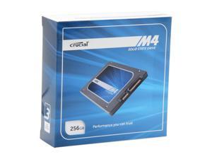 "Crucial M4 CT256M4SSD1CCA 2.5"" MLC 7mm Internal Solid State Drive (SSD) with Data Transfer Kit"