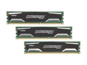 Crucial Ballistix Sport 12GB (3 x 4GB) 240-Pin DDR3 SDRAM DDR3 1600 (PC3 12800) Desktop Memory Model BLS3KIT4G3D1609DS1S00