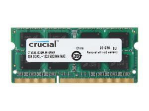 Crucial 4GB DDR3 1333 (PC3 10600) Memory for Apple Model CT4G3S1339M