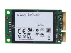 Crucial M4 32GB Mini-SATA (mSATA) MLC Internal Solid State Drive (SSD) CT032M4SSD3