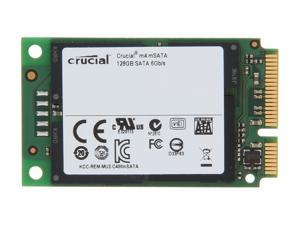 Crucial M4 CT128M4SSD3 128GB Mini-SATA (mSATA) MLC Internal Solid State Drive (SSD)