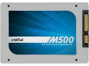 "Crucial M500 CT480M500SSD1 7mm (with 9.5mm adapter) 2.5"" 480GB SATA III MLC Internal Solid State Drive (SSD)"