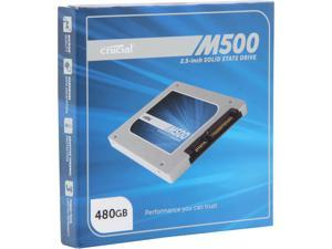 "Crucial M500 480GB SATA 2.5"" 7mm (with 9.5mm adapter) Internal Solid State Drive CT480M500SSD1"