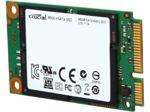 Crucial M500 480GB Mini-SATA (mSATA) MLC Internal Solid State Drive (SSD) CT480M500SSD3