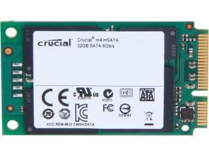 Manufacturer Recertified Crucial M4 CT032M4SSD3 32GB Mini-SATA (mSATA) MLC Internal Solid State Drive (SSD)