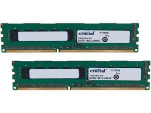 Crucial 16GB (2 x 8GB) DDR3 1866 (PC3 14900) ECC Unbuffered Memory For Mac Pro Systems Model CT2K8G3W186DM