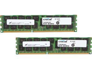 Crucial 32GB (2 x 16GB) DDR3 1866 (PC3 14900) ECC Registered Memory For Mac Pro Systems Model CT2K16G3R186DM