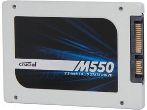 "Crucial M550 CT128M550SSD1 2.5"" 128GB SATA 6Gb/s MLC Internal Solid State Drive (SSD)"