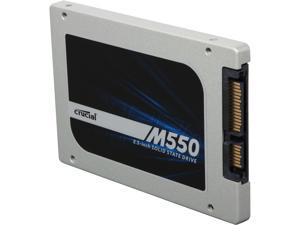 "Crucial M550 CT512M550SSD1 2.5"" 512GB SATA 6Gbps MLC Internal Solid State Drive (SSD)"