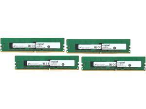 Crucial 16GB (4 x 4GB) 288-Pin DDR4 SDRAM ECC DDR4 2133 (PC4 17000) Server Memory Model CT4K4G4RFS8213
