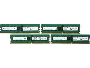Crucial 32GB (4 x 8GB) 288-Pin DDR4 SDRAM ECC DDR4 2133 (PC4 17000) Server Memory Model CT4K8G4RFS4213