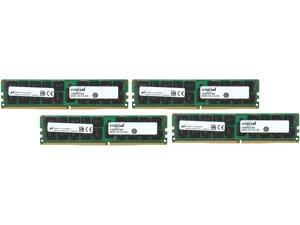 Crucial 64GB (4 x 16GB) 288-Pin DDR4 SDRAM ECC DDR4 2133 (PC4 17000) Server Memory Model CT4K16G4RFD4213
