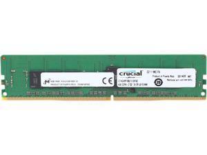Crucial 4GB 288-Pin DDR4 SDRAM ECC Registered DDR4 2133 (PC4 17000) Server Memory Model CT4G4RFS8213