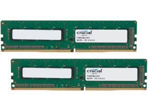 Crucial 8GB (2 x 4GB) 288-Pin DDR4 SDRAM DDR4 2133 (PC4 17000) Desktop Memory Model CT2K4G4DFS8213