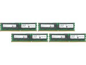 Crucial 128GB (4 x 32GB) 288-Pin DDR4 SDRAM ECC DDR4 2133 (PC4 17000) Server Memory Model CT4K32G4LFQ4213