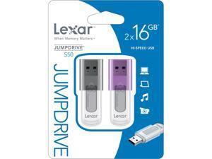 Lexar 16GB USB Flash Drive Model LJDS50-16GABEU2
