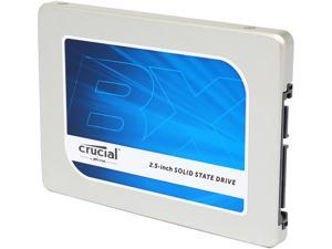 "Crucial BX100 2.5"" 1TB SATA 6Gbps (SATA III) Micron 16nm MLC NAND Internal Solid State Drive (SSD) CT1000BX100SSD1"