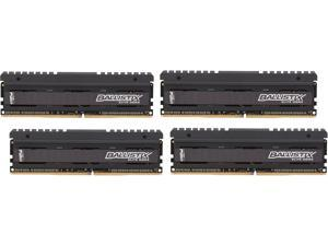 Ballistix Elite 16GB (4 x 4GB) 288-Pin DDR4 SDRAM DDR4 2666 (PC4 21300) Performance Memory Model BLE4K4G4D26AFEA