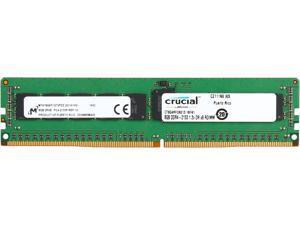 Crucial 8GB 288-Pin DDR4 SDRAM ECC Registered DDR4 2133 (PC4 17000) Server Memory Model CT8G4RFD8213