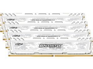 Ballistix Sport LT 16GB (4 x 4GB) 288-Pin DDR4 SDRAM DDR4 2400 (PC4 19200) Desktop Memory Model BLS4K4G4D240FSC