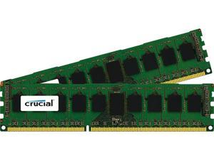 Crucial 8GB (2 x 4GB) 240-Pin DDR3 SDRAM ECC Unbuffered DDR3 1866 (PC3 14900) Server Memory Model CT2KIT51272BA186DJ