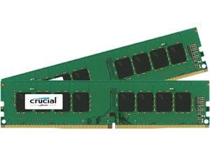 Crucial 16GB (2 x 8GB) 288-Pin DDR4 SDRAM DDR4 2133 (PC4 17000) Desktop Memory Model CT2K8G4DFS8213