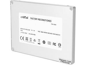 "Crucial M500 CT480M500SSD1 7mm (with 9.5mm adapter) 2.5"" 480GB SATA III MLC Internal Solid State Drive (SSD) - Factory Recertified"