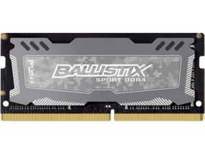 Ballistix Sport LT 4GB Single DDR4 2400 MT/s (PC4-19200) SODIMM 260-Pin Memory - BLS4G4S240FSD