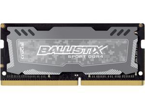 Ballistix Sport LT 4GB Single DDR4 2400 MT/s (PC4-19200) SODIMM 260-Pin Memory - BLS4G4S240FSD