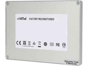 "Crucial MX100 2.5"" 128GB SATA III Internal Solid State Drive (SSD) CT128MX100SSD1 - Factory Recertified"