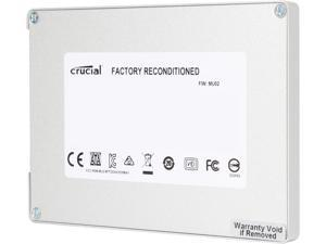 "Crucial MX100 2.5"" 512GB SATA III MLC Internal Solid State Drive (SSD) CT512MX100SSD1 - Factory Recertified"