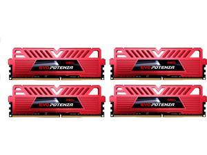 GeIL EVO POTENZA 16GB (4 x 4GB) 288-Pin DDR4 SDRAM DDR4 3000 (PC4 24000) Gaming Memory Model GPR416GB3000C15AQC
