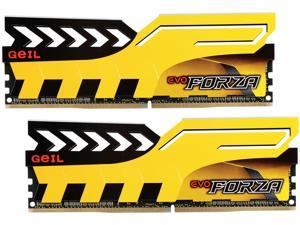 GeIL EVO FORZA DC 8GB (2 x 4GB) 288-Pin DDR4 SDRAM DDR4 2133 (PC4 17000) Desktop Memory Model GFY48GB2133C15DC