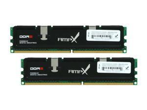 Wintec AMPX 2GB (2 x 1GB) 240-Pin DDR2 SDRAM DDR2 800 (PC2 6400) Dual Channel Kit Desktop Memory Model 3AXT6400C5-2048K