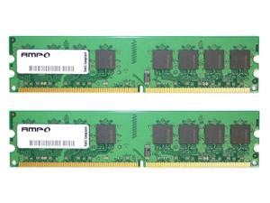 Wintec AMPO 1GB (2 x 512MB) 240-Pin DDR2 SDRAM DDR2 800 (PC2 6400) Dual Channel Kit Desktop Memory