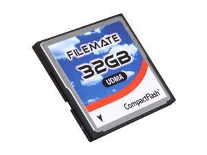 Wintec FileMate 32GB Compact Flash (CF) Flash Card Model 3FMCF32GBW-R