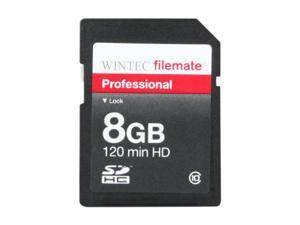 WINTEC FileMate 8GB Professional Class 10 Secure Digital SDHC Card - Retail