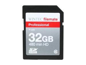 WINTEC FileMate Professional 32GB Class 10 Secure Digital SDHC Card - Retail