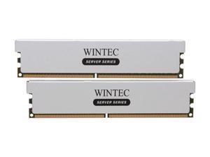 Wintec 4GB (2 x 2GB) 240-Pin DDR2 SDRAM ECC Registered DDR2 800 (PC2 6400) Server Memory 2Rx8 W/HS Model 3RST8006R9H-4GK