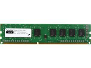 Wintec Value 4GB 240-Pin DDR3 SDRAM DDR3 1333 (PC3 10600) Desktop Memory Model 3VH13339U8-4GR