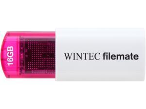 Wintec FileMate Mini Plus 16GB USB Flash Drive Model 3FMUSB16GMPRD-R