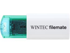 Wintec FileMate Mini Plus 32GB USB Flash Drive Model 3FMUSB32GMPBL-R